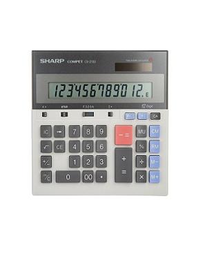 ماشین حساب شارپ مدل CS-2130