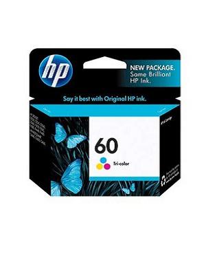 کارتریج جوهر افشان اچ پی رنگی HP 60