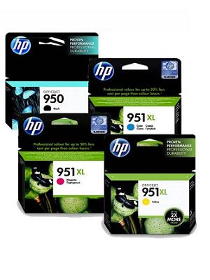 کارتریج جوهر افشان اچ پی رنگی HP 951XL