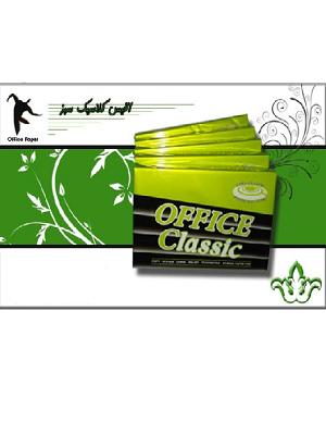 کاغذ A4 آفیس سبز office