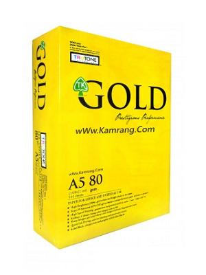 کاغذ A5 گلد Gold A5 Paper