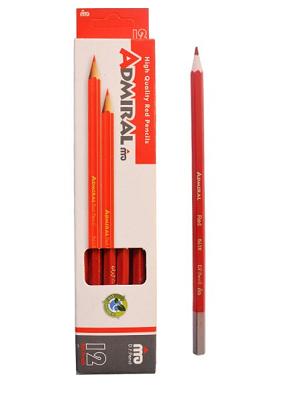 بسته ۱۲ عددی مداد قرمز ADMIRAL
