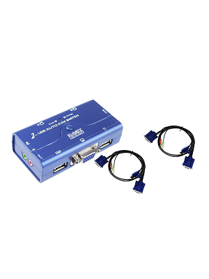 سوییچ KVM دو پورت USB کی نت پلاس مدلKPU622