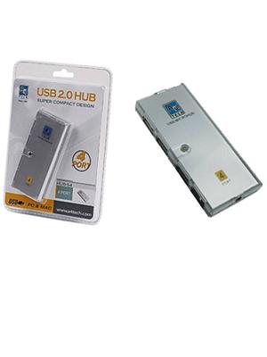 هاب USB چهار پورت ای فورتک مدل 54