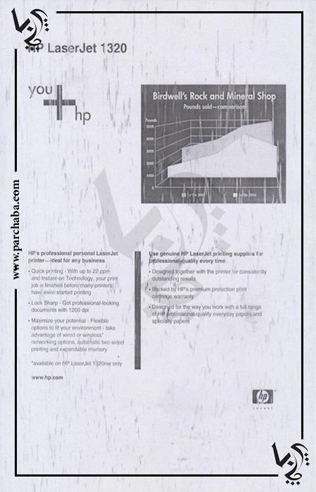 ایراد کارتریج/چاپ روی کاغذ بصورت بارانی/چاپ صفحه بارانی