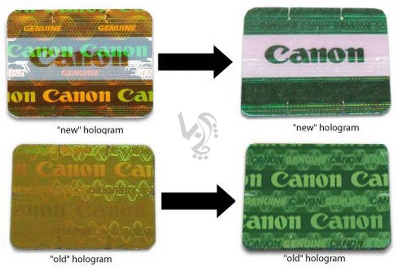 شناسایی کارتریج اصلی و اورجینال canon