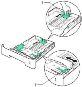 تنظیمات اندازه کاغذ در پرینتر hp